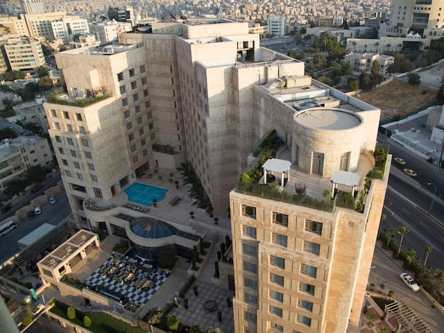 Grand hyatt amman birds eye