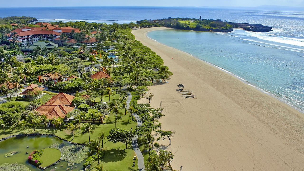 Ultimate Beachfront Luxury Grand Hyatt Bali Nusa Dua Beach