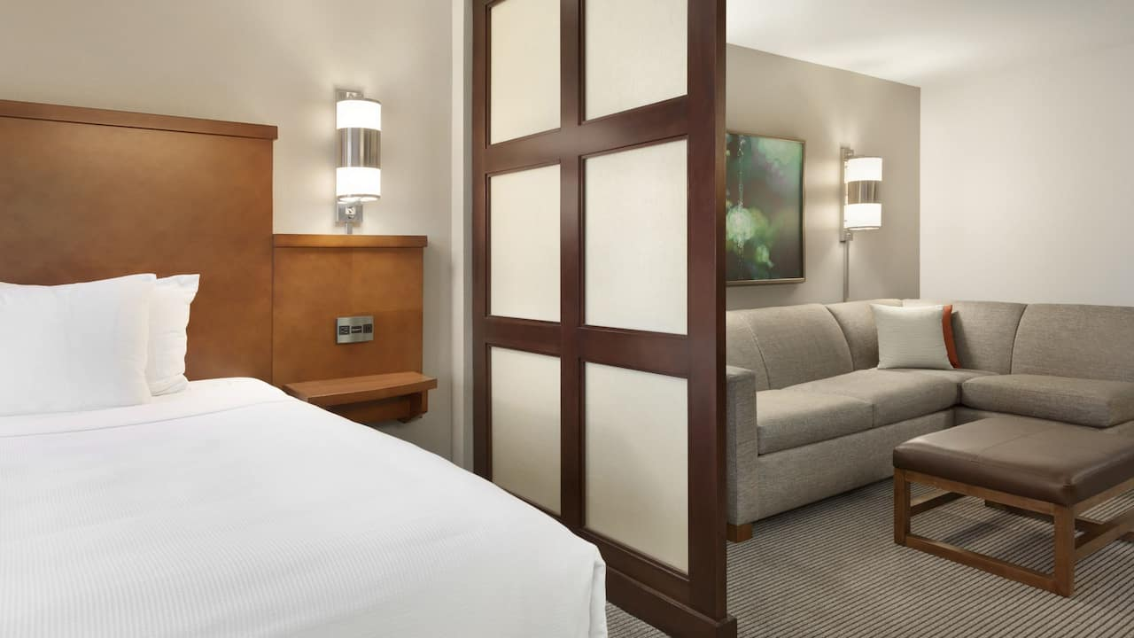 Our King bed guest rooms are perfect for business travelers or couples.