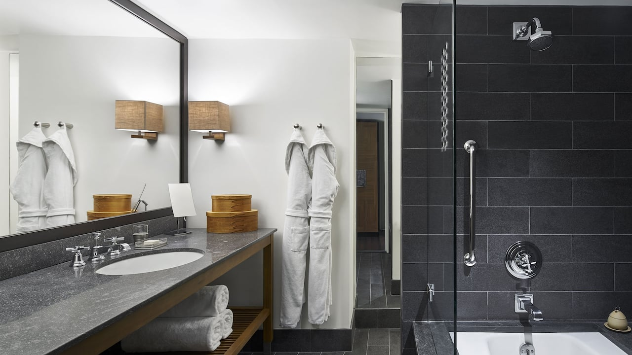 Park Deluxe Double Basalt Bathroom