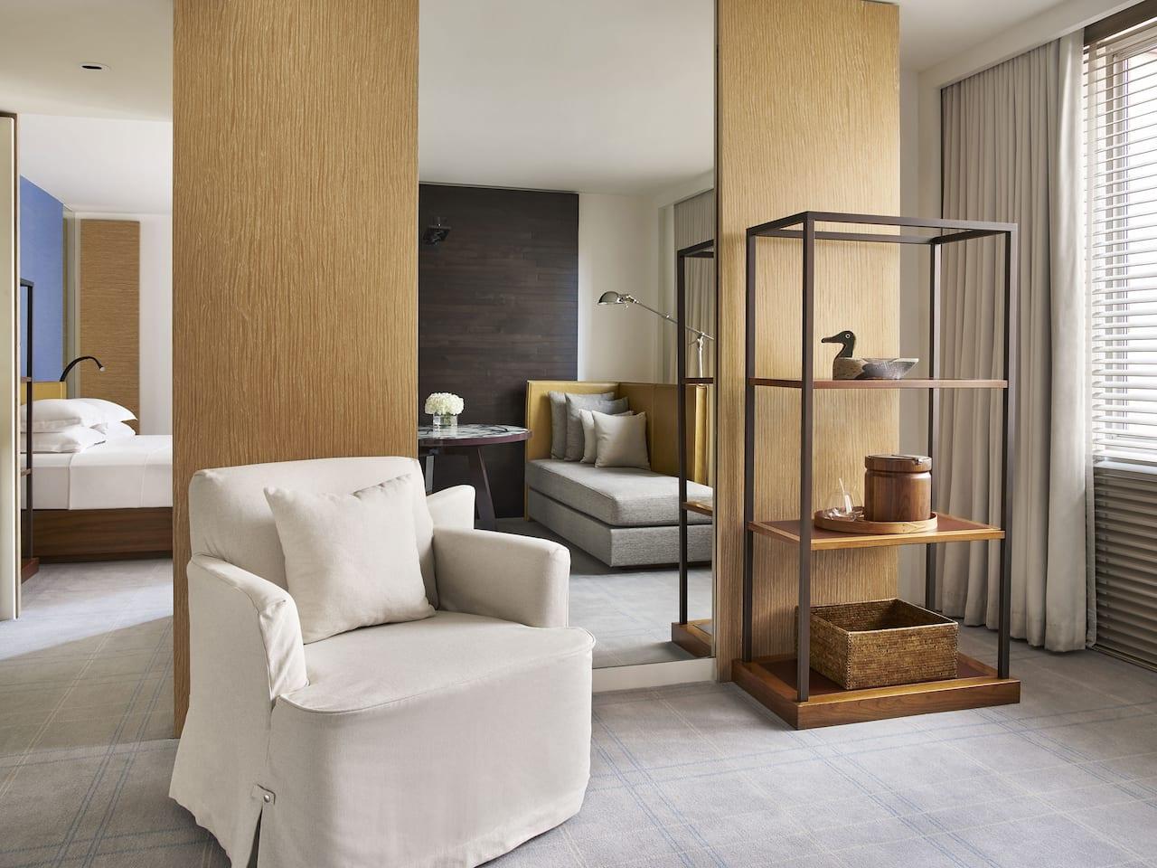 Park Hyatt Washington D.C. Park Suite Sitting Area