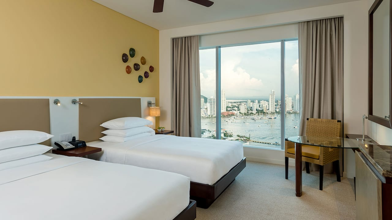 double room bay view