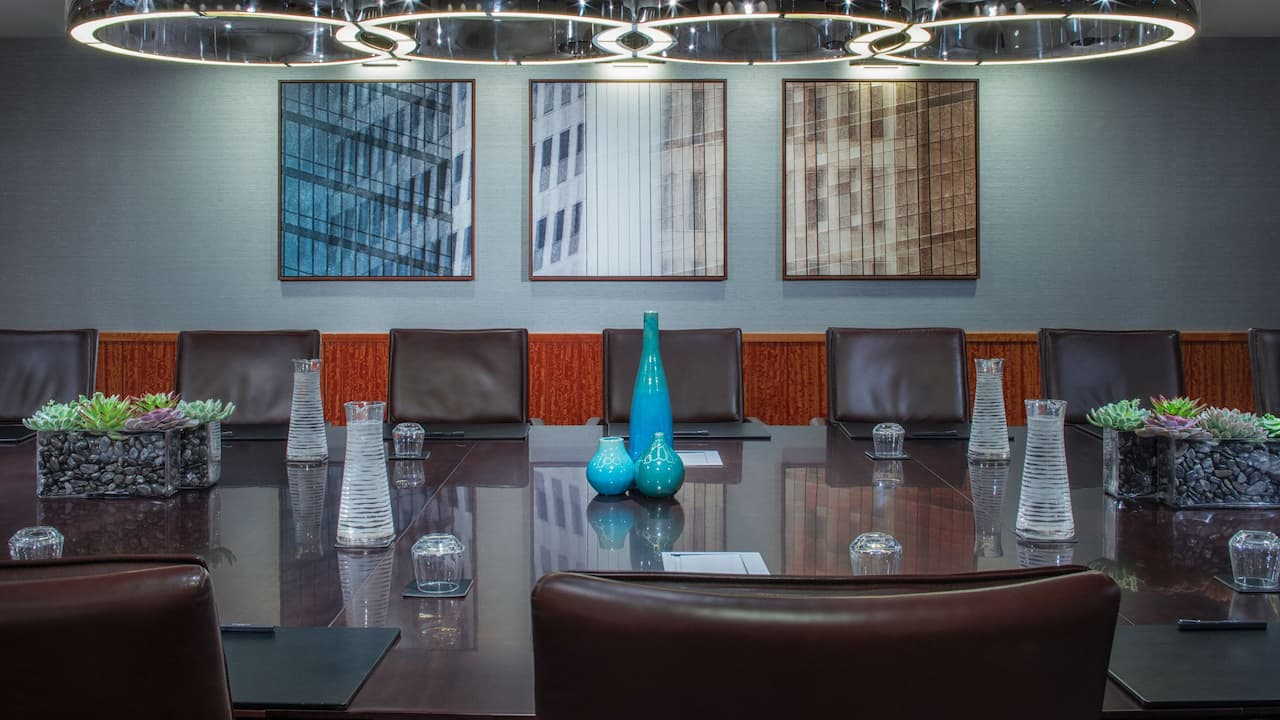 Grand Hyatt New York Shubert Boardroom Meeting Space