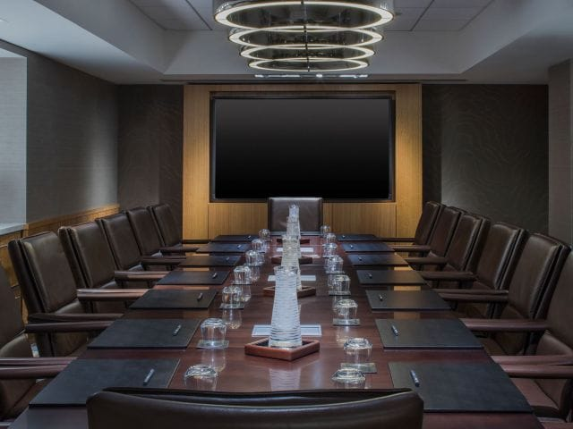 Grand Hyatt New York Meeting Room
