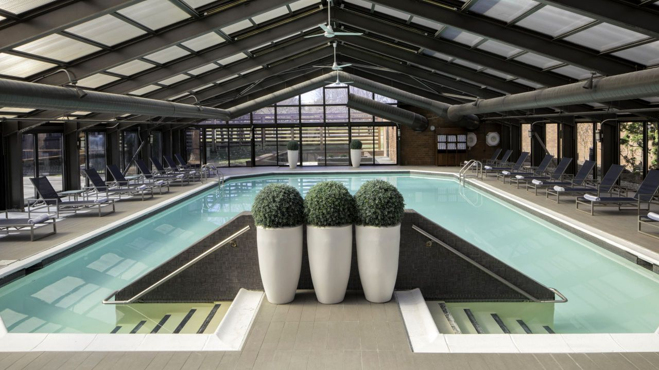 Indoor Pool at Hyatt Regency Princeton