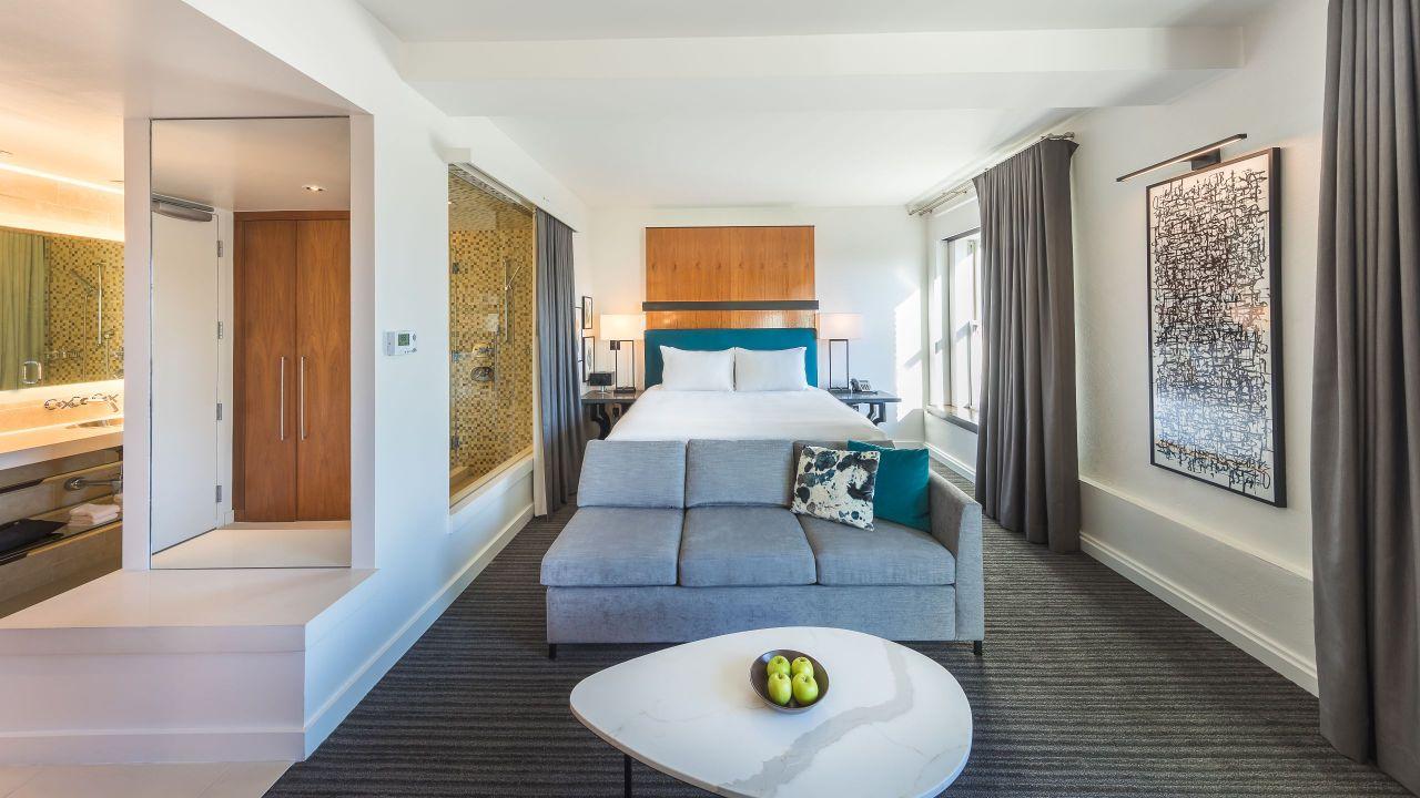 Large Loft King Bed