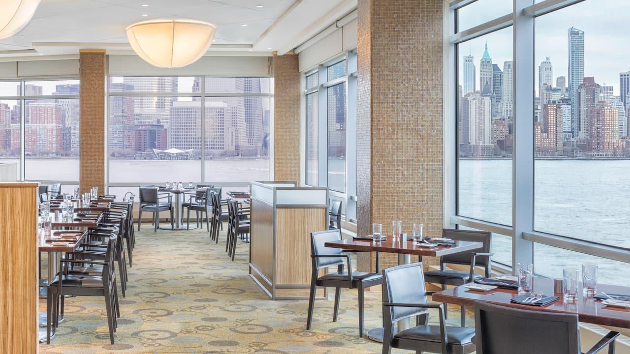 Vu Restaurant Hyatt Regency Jersey City on the Hudson