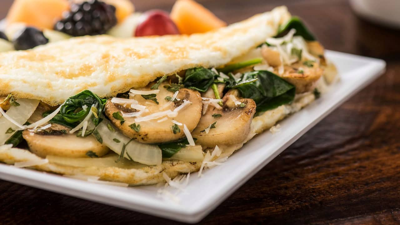 Heart Healthy Egg White Omelet