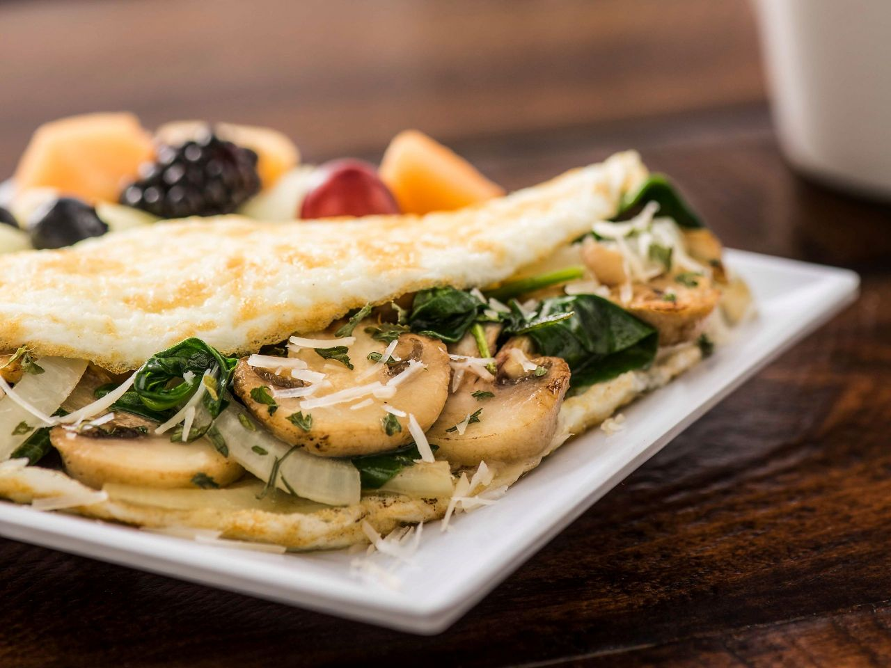 Heart Healthy Egg White Omelet