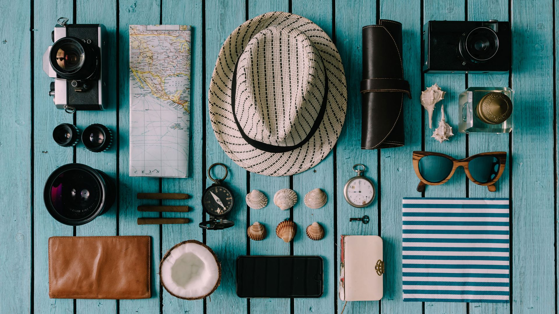 Summer object items