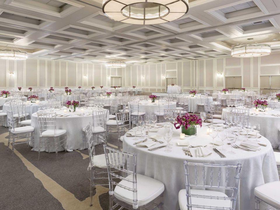 Ballroom Rounds White