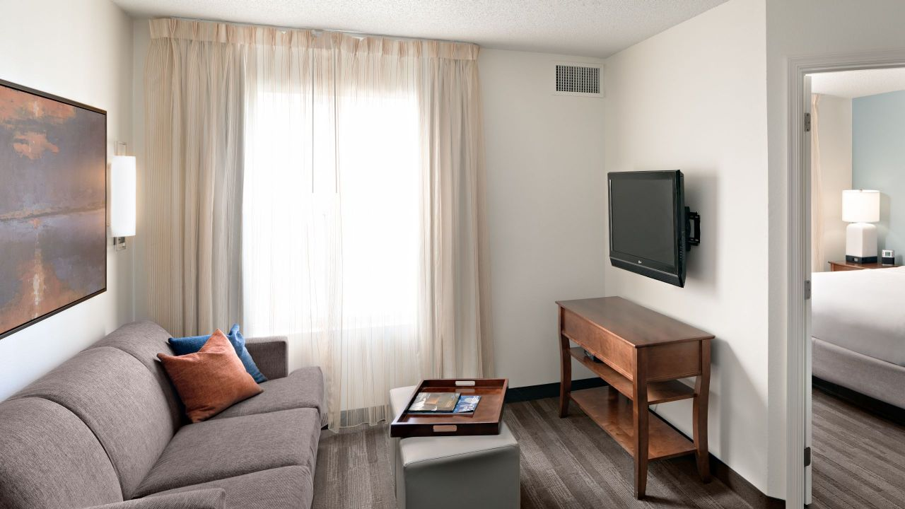 Hyatt House One Bedroom Suite Family Room