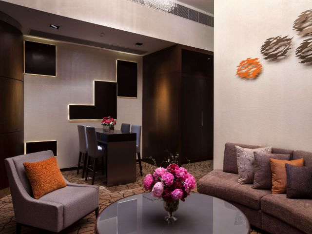 Grand Hyatt Macao Residence Living Area