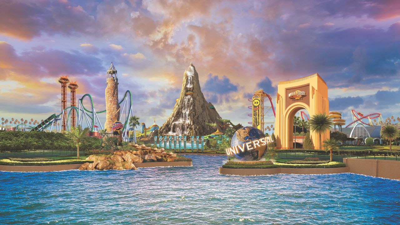 Universal Destination Scope with Volcano Bay