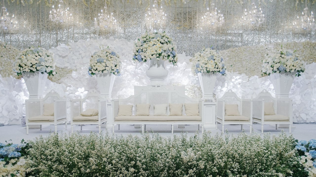 Weddings at Grand Hyatt Jakarta, a Beautiful Space for an Elegant Indoor Wedding in Jakarta