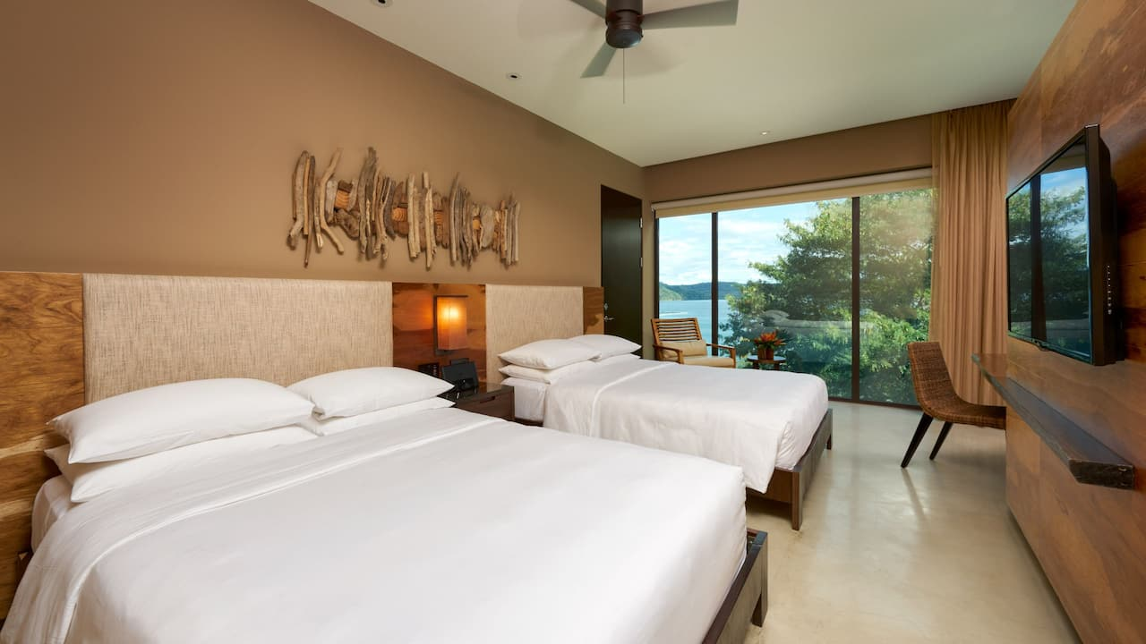 Double beds room Costa Rica resort