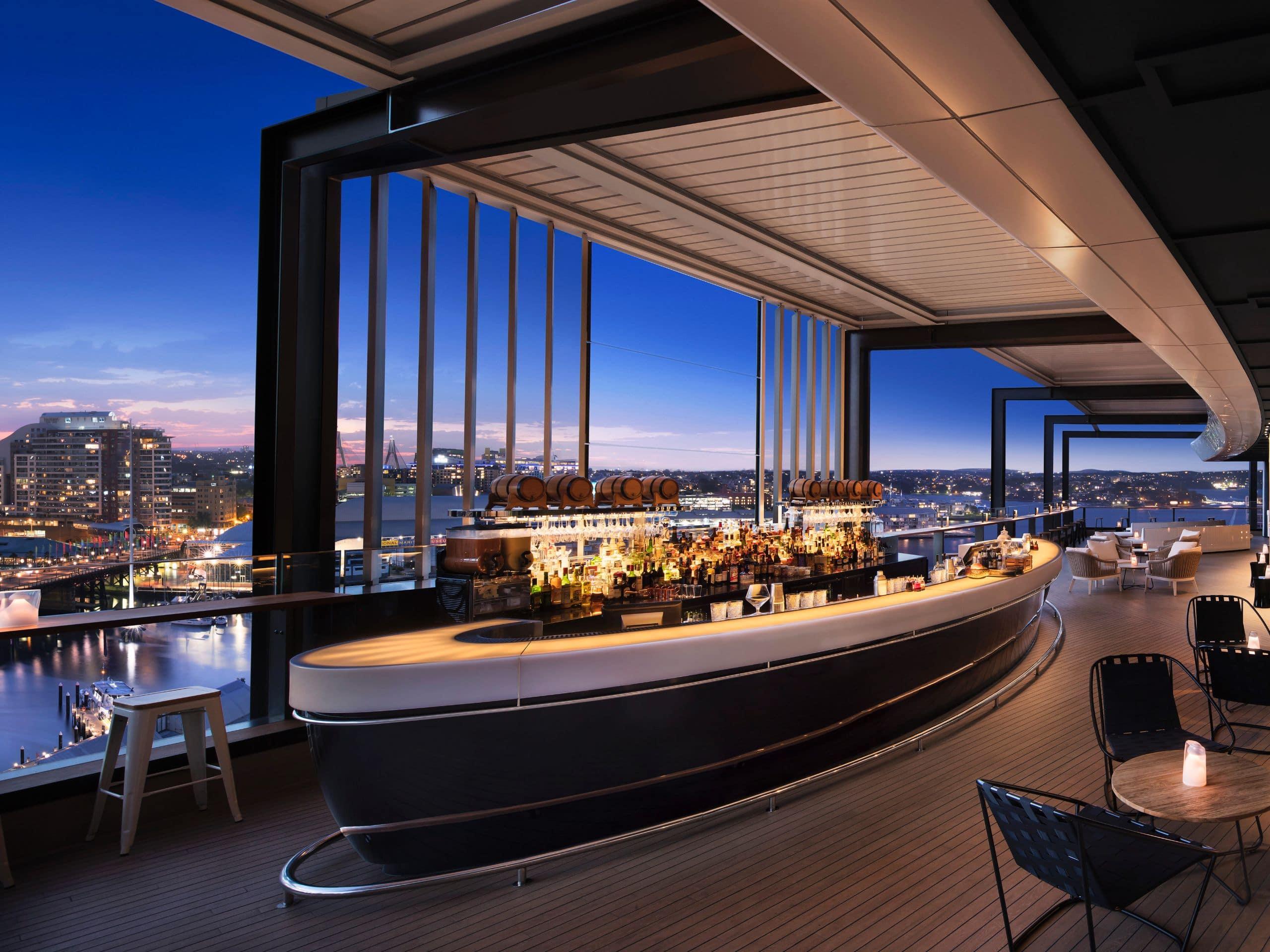 Darling Harbour Restaurants Bars Hyatt Regency Sydney