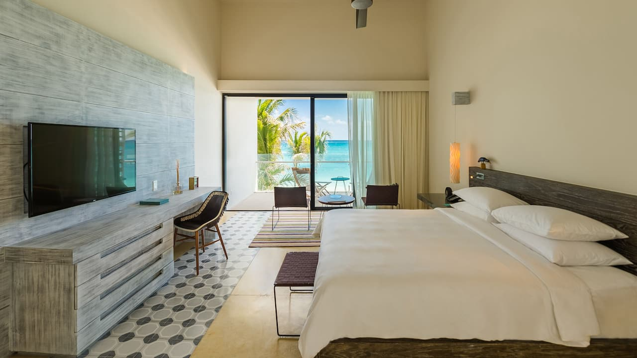 Andaz Mayakoba Resort Riviera Maya bilevel suite
