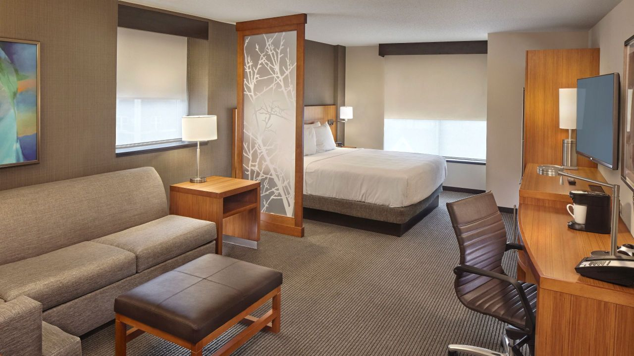 Hyatt King Bedroom With Sofa Bed