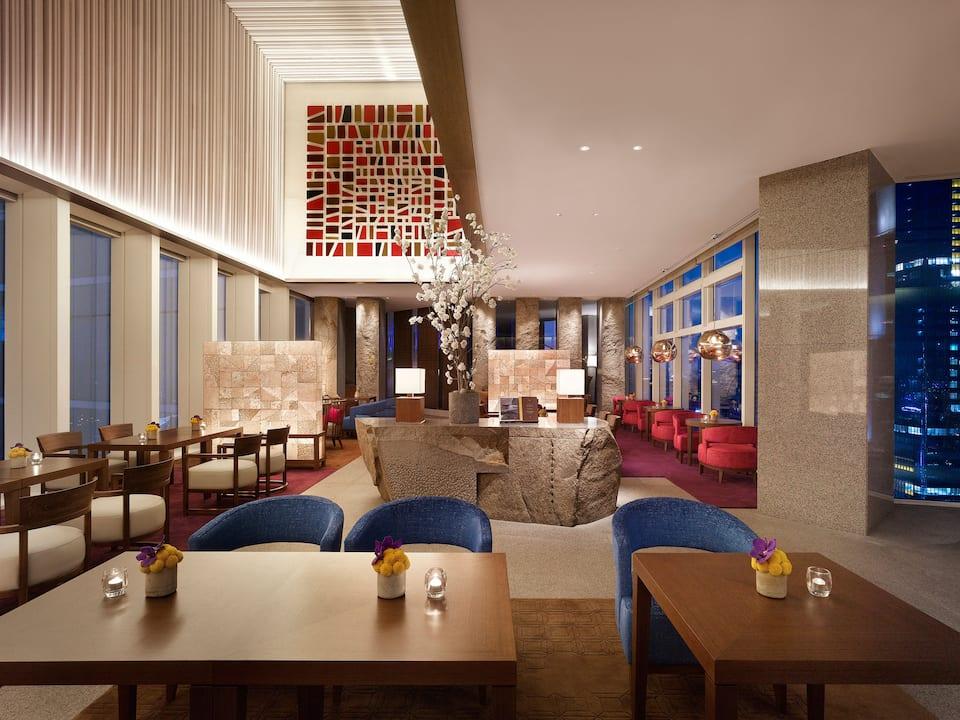 韩国首尔柏悦酒店酒吧The Lounge