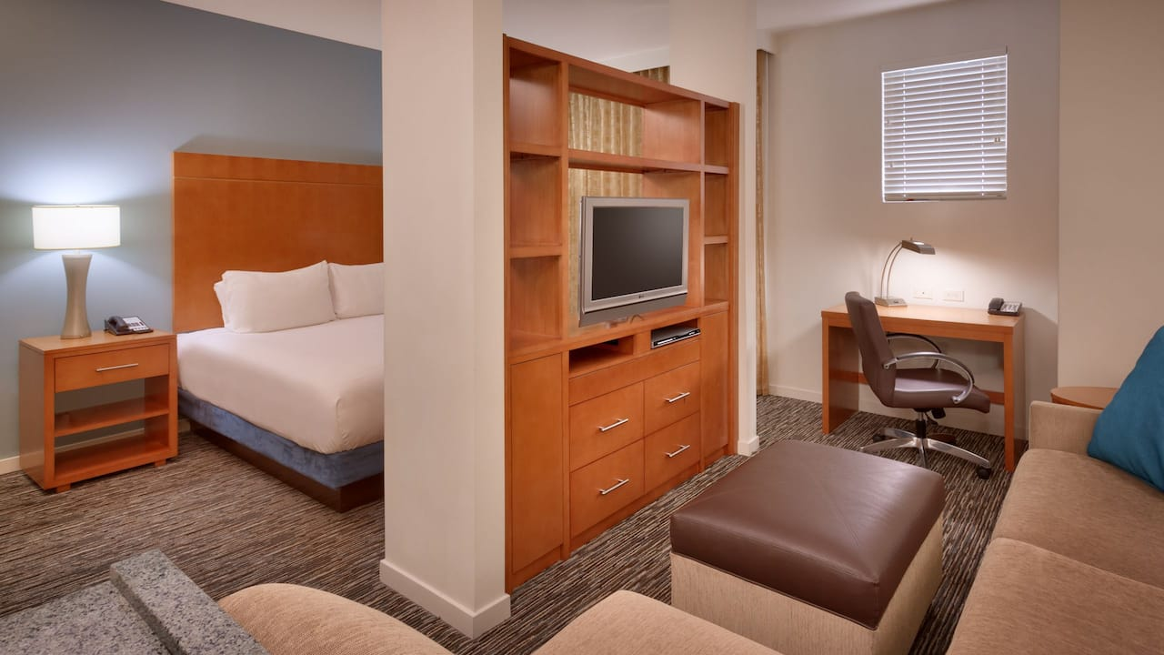 Spacious Studio Suite in Sandy, UT – Hyatt House Hotel Salt Lake City/Sandy