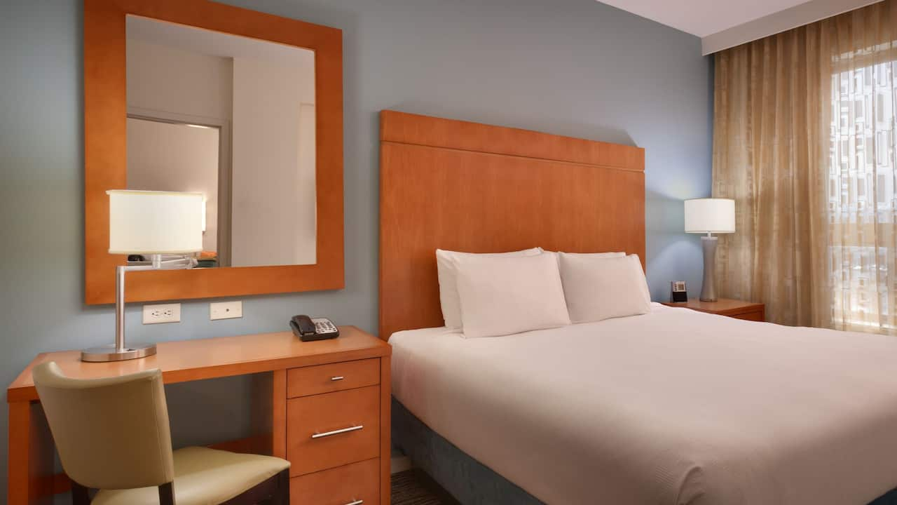 One Bedroom Suite with King Bed in Sandy, UT – Hyatt House Hotel Salt Lake City/Sandy