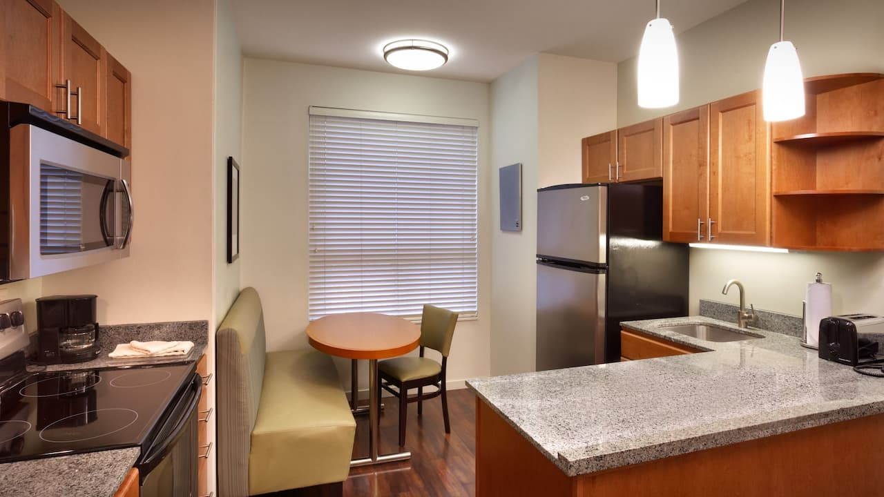 Two Bedroom King Suite with Fully-Equipped Kitchen – Hyatt House Hotel Salt Lake City/Sandy