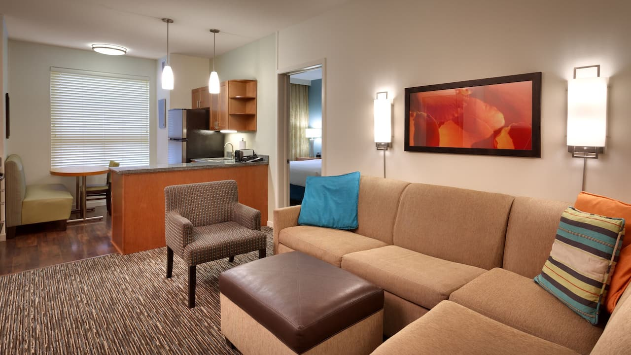 Two Bedroom King Suite with Sofa Bed – Hyatt House Hotel Salt Lake City/Sandy