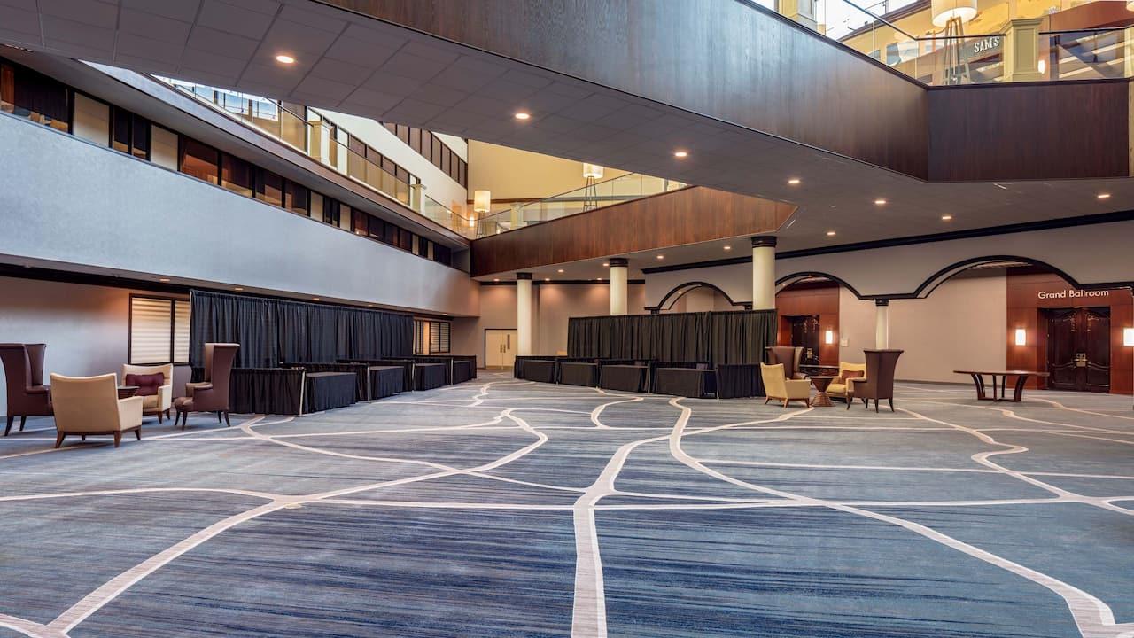 Ballroom Foyer Exhibit