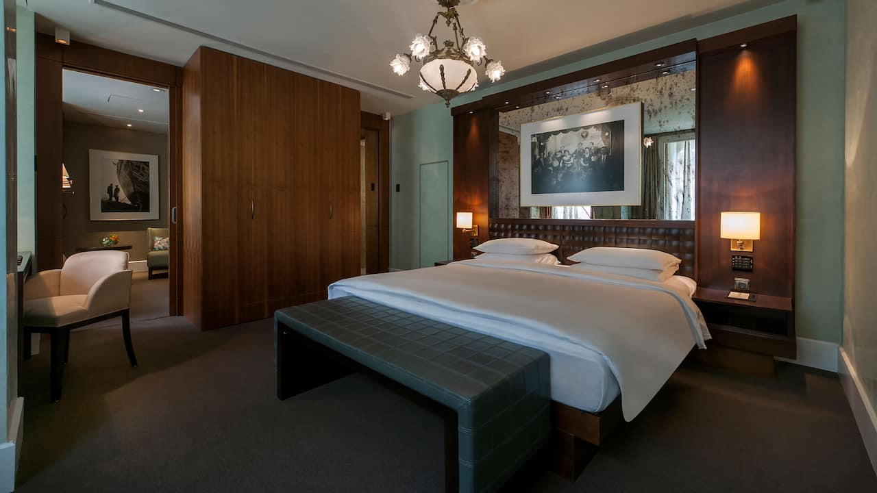 Park Suite King Bedroom