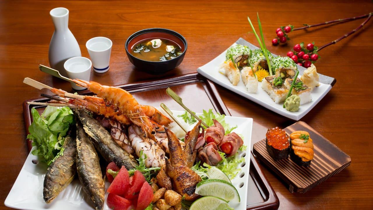 彩日本料理日式燒烤