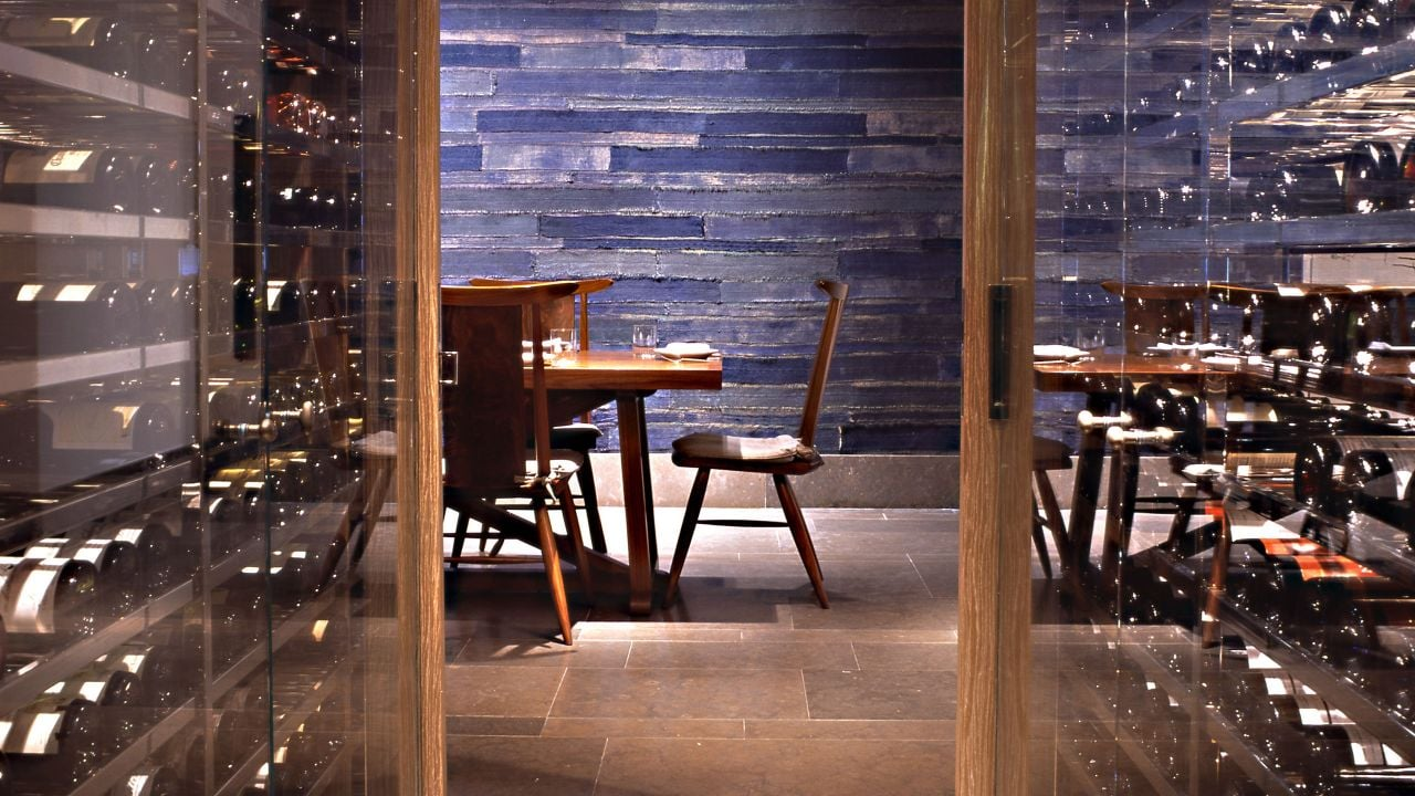 Blue Duck Tavern Wine Cellar
