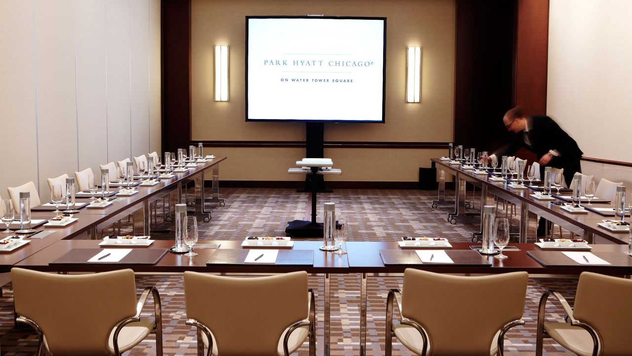 Park Hyatt Chicago Business Meeting Room