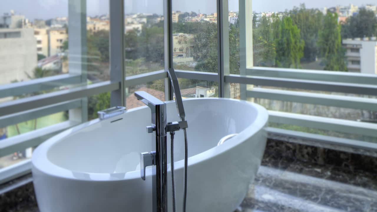 Suite bath tub