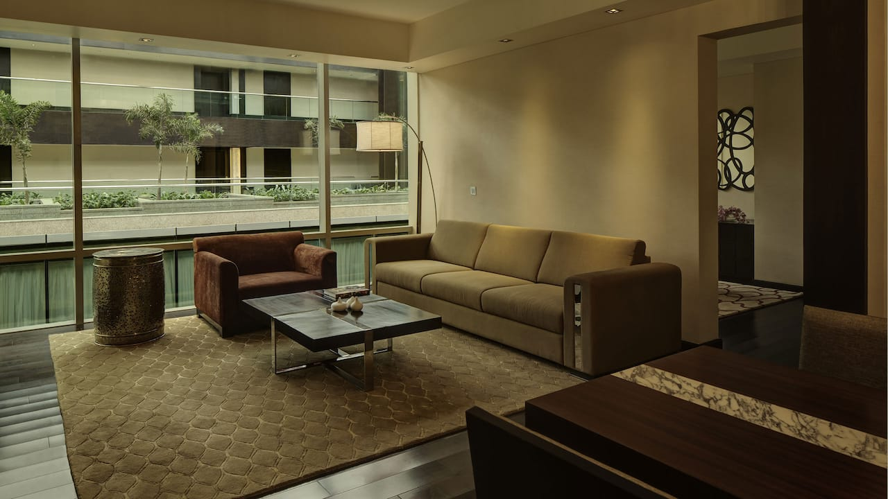 Two Bedroom Deluxe Apartment at Park Hyatt Hyderabad