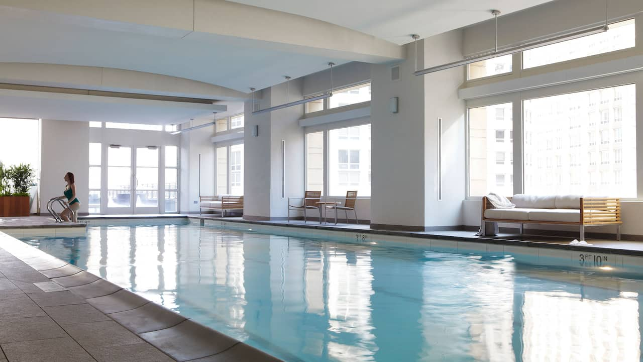 Park Hyatt Chicago Indoor Pool