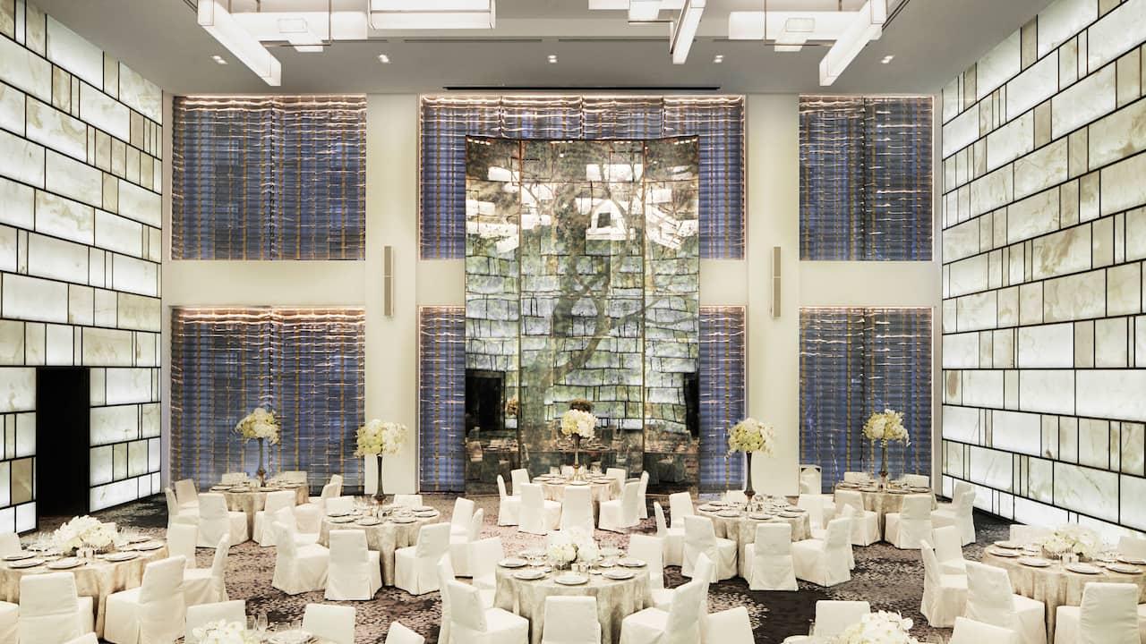 Park Hyatt New York's Onyx Room and Foyer