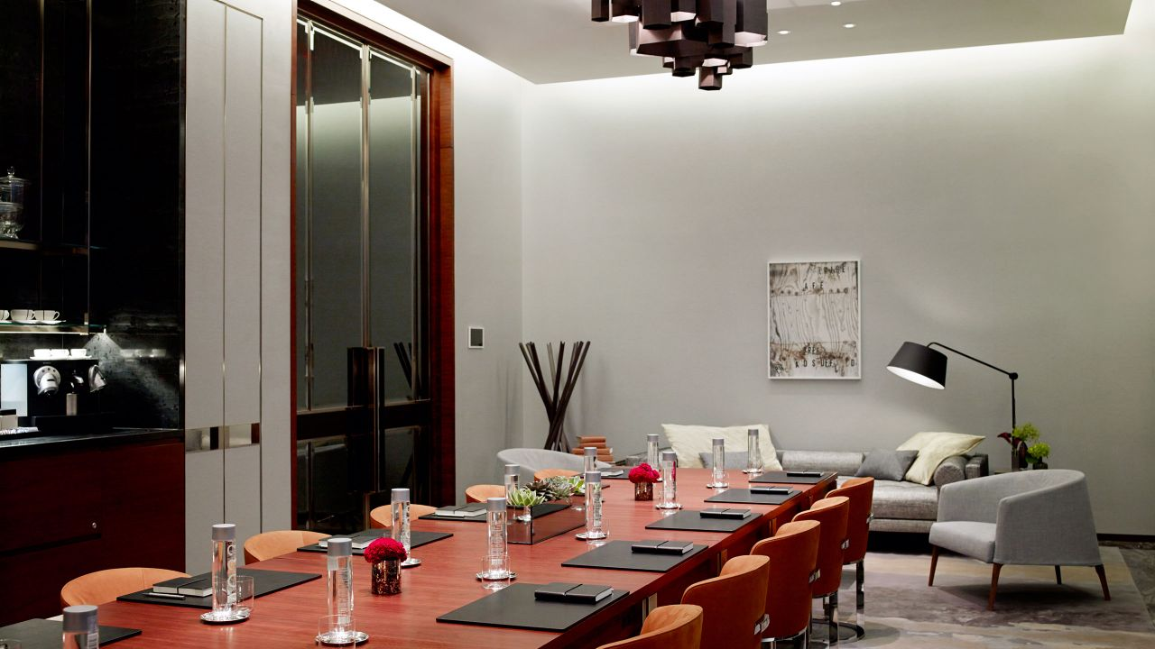 Park Hyatt New York Meeting Space: Terrace Boardroom