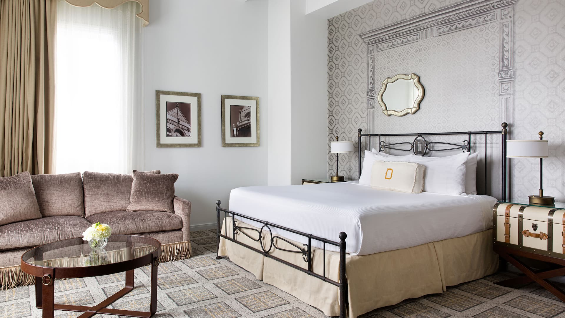 Senate Guestroom Remodeled The Driskill