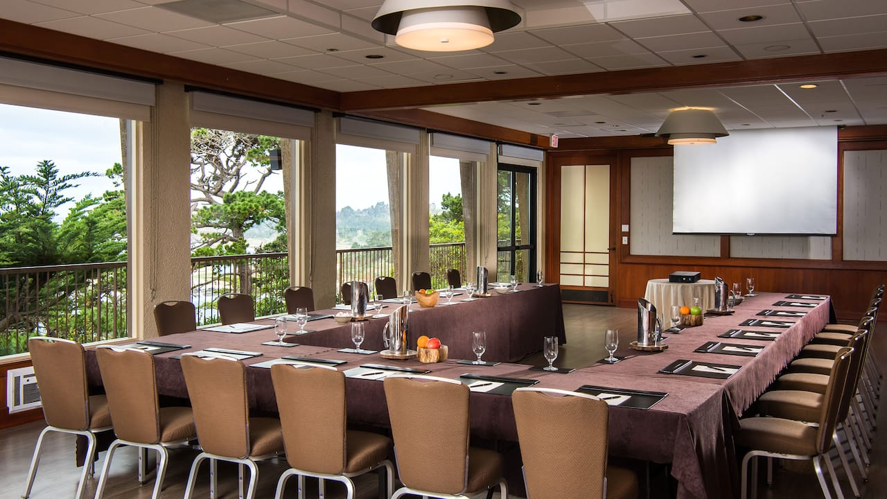 Hyatt Surf Room Conference Setup