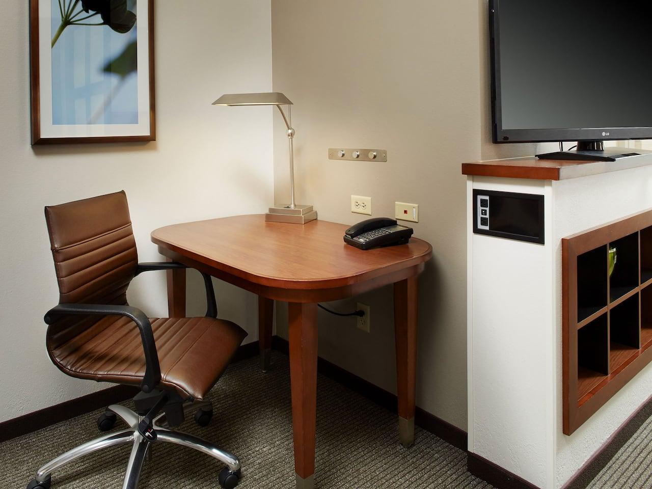 desk corner