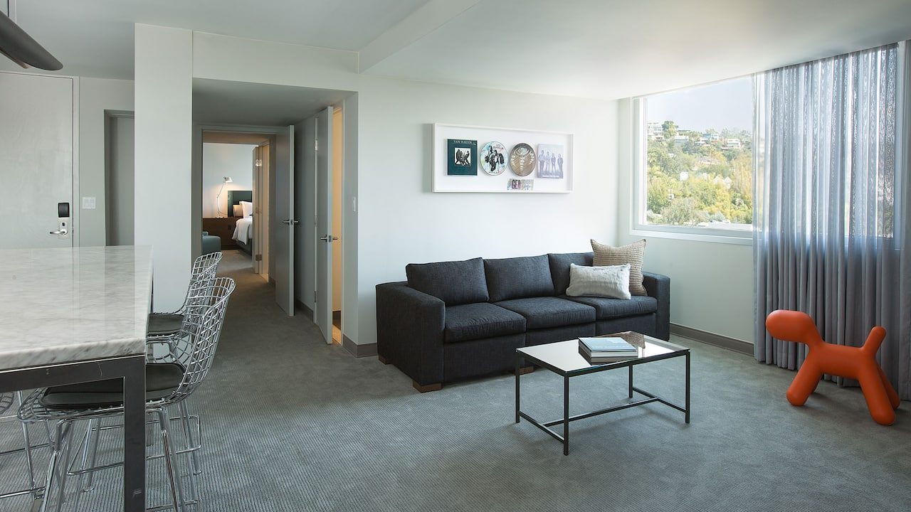 ANDAZ WEST HOLLYWOOD (ANDAZ) | Living Room Suite