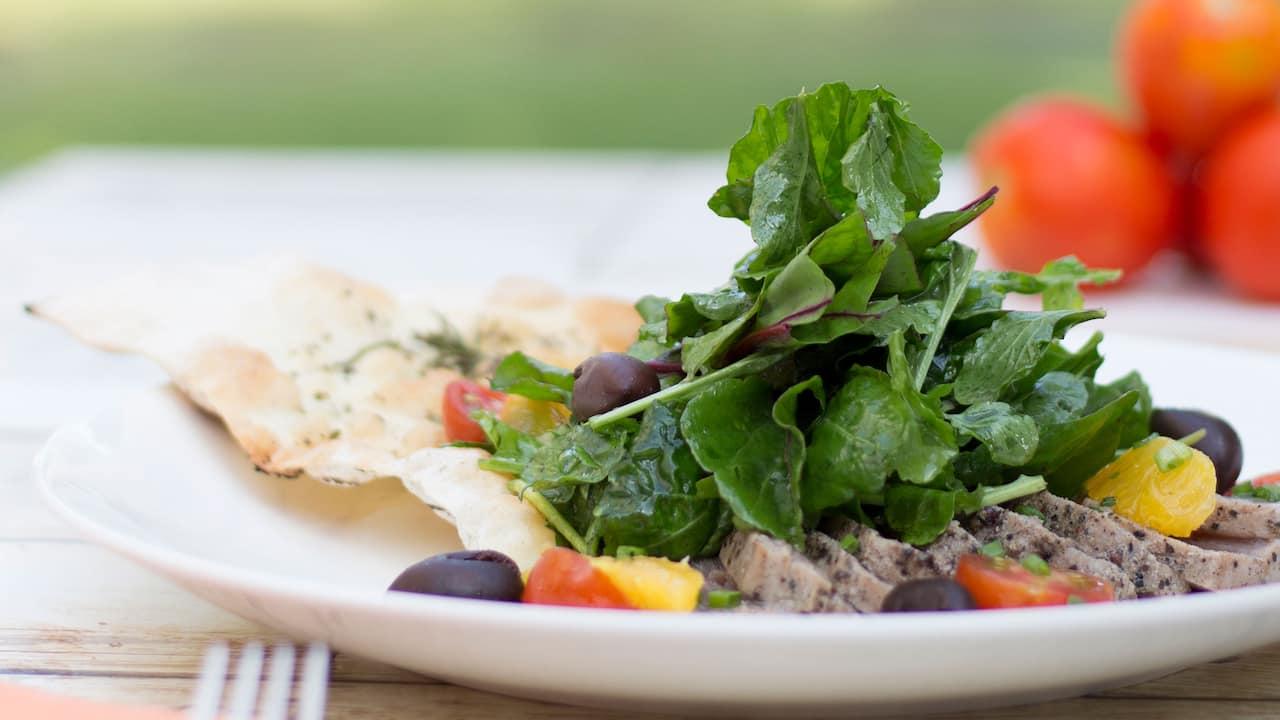 Salsa Verde Italian Restaurant (Tuna Salad) - Grand Hyatt Bali