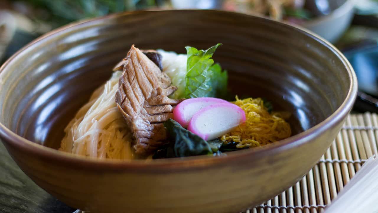 Nampu Japanese Restaurant Menu (Tai So Men) - Grand Hyatt Bali