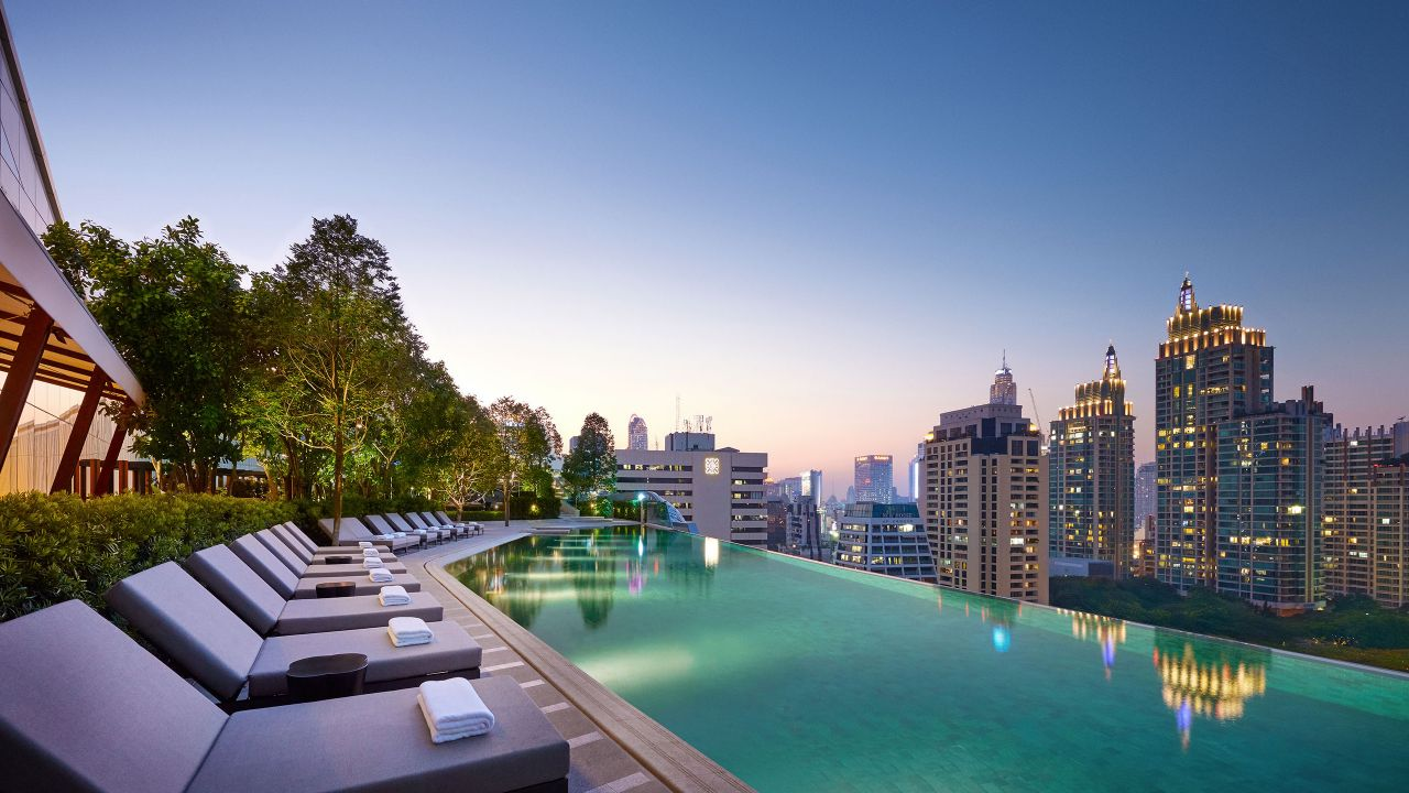 Luxury 5 star hotel in bangkok park hyatt bangkok for Hotel bangkok