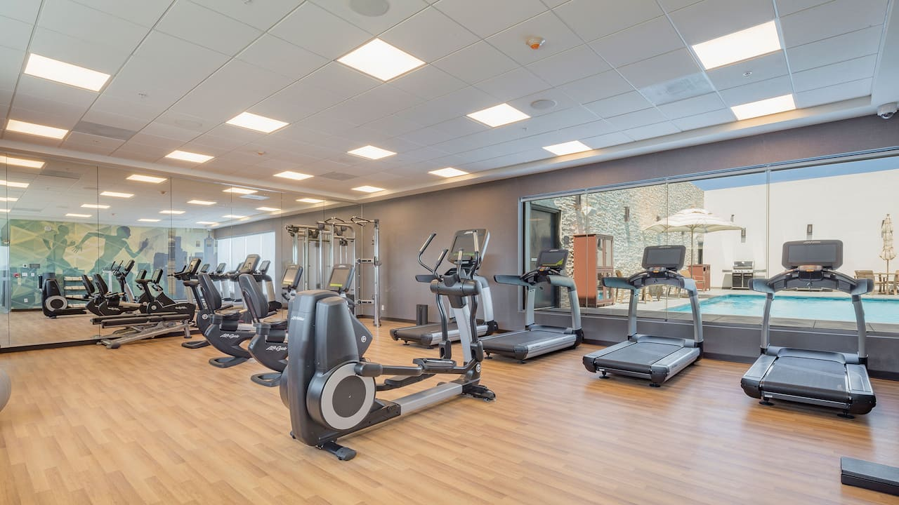 Hyatt House Mexico City / Santa Fe Gym