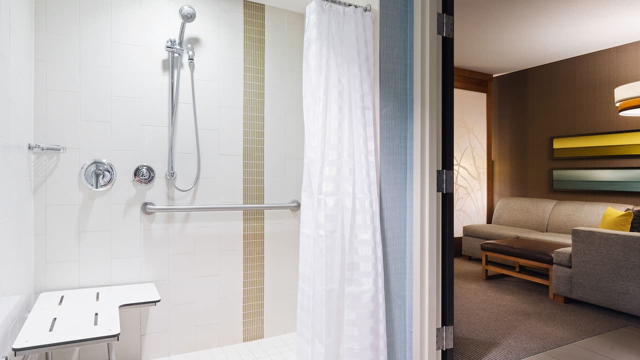 Hyatt Place Delray Beach Accessible Bathroom