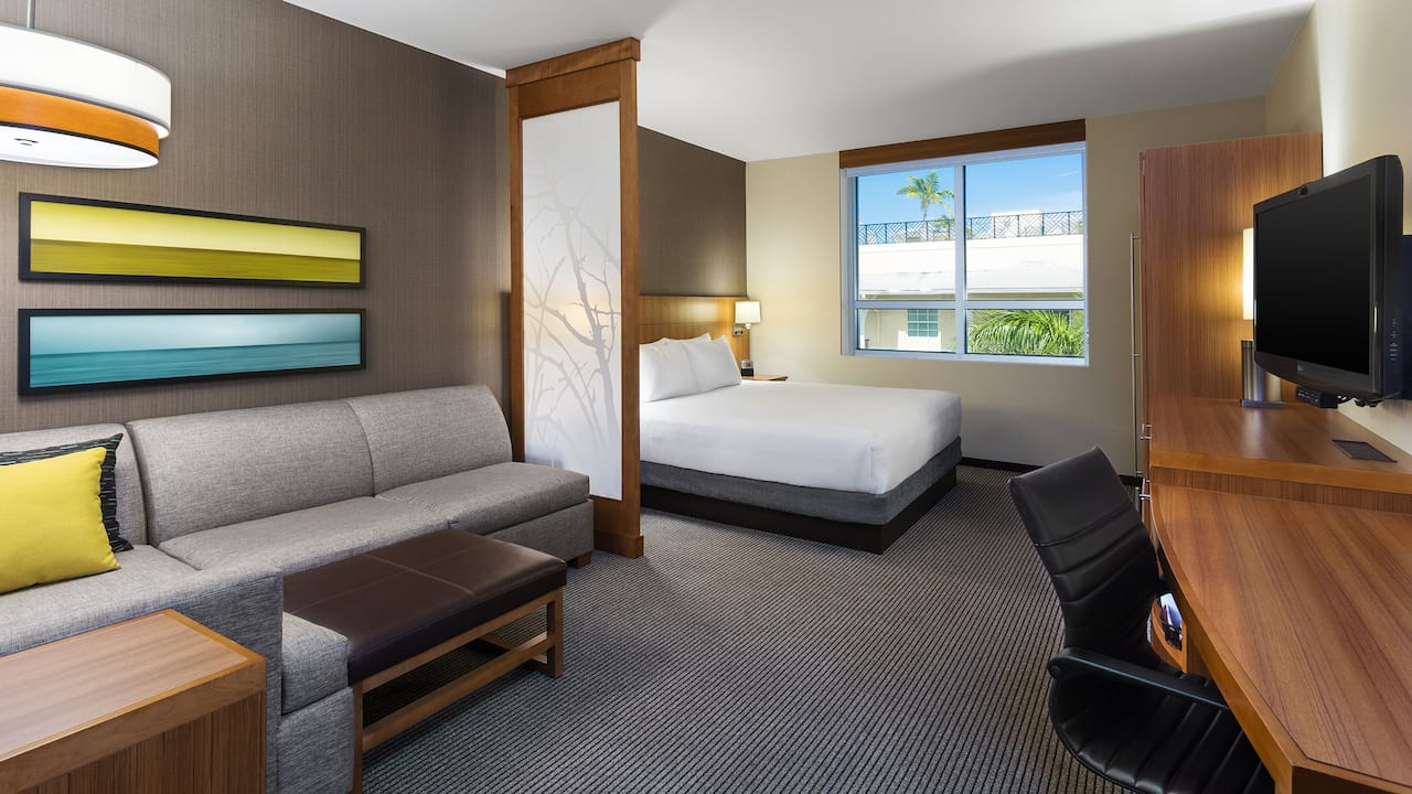 Hyatt Place Delray Beach Suite
