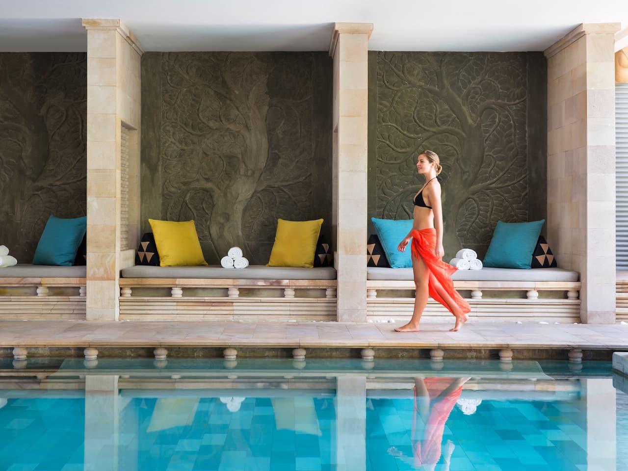 Free Form Swimming Pool at Park Hyatt Hyatt Siem Reap