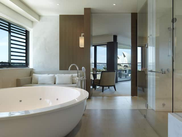 Rooftop Suite Bathroom